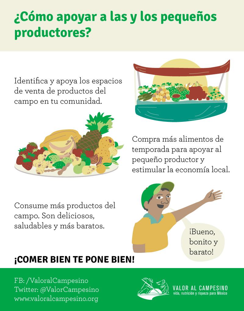8 OCT - ¿Cómo apoyar a las y los pequeños productores?